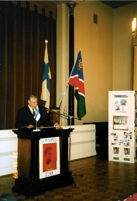 Suomi-Namibia-seura 25 vuotta